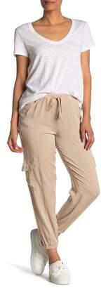 Modern Designer Rayon Cargo Pants