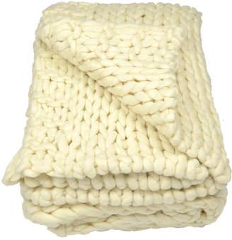 Aviva Stanoff Design Chunky Knit Throw Blanket
