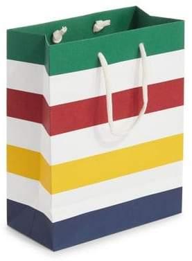 HBC Medium Multicolour Stripes Gift Bag