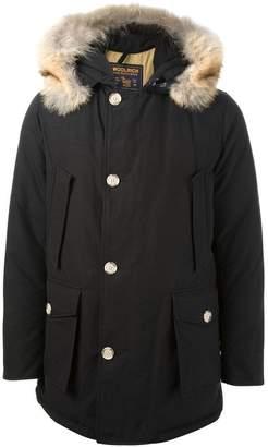 Woolrich faux fur hood parka