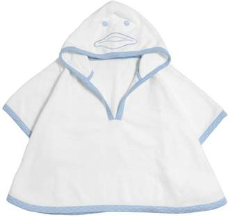 Armani Junior Cotton Terrycloth Bathrobe & Wash Mitt