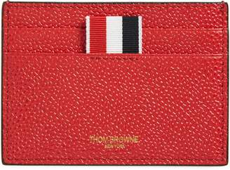 Thom Browne Bicolor Leather Card Case