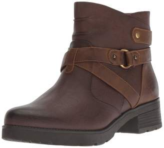 Naturalizer Soul SOUL Women's Quincy Ankle Boot Brown 7 W US