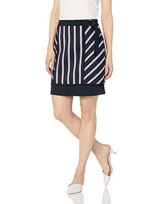 344c400a8d BCBGMAXAZRIA Women s Striped Mini Skirt