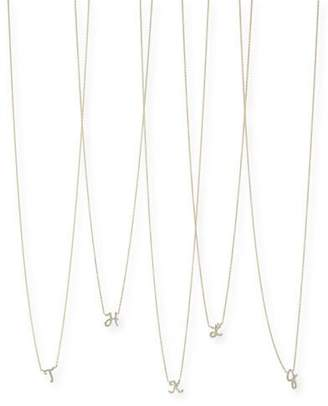 Sydney Evan Diamond Initial Pendant Necklace