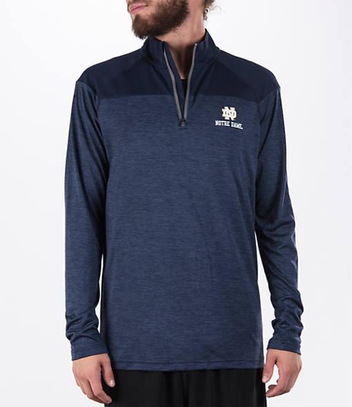 Under Armour Men's Notre Dame Fighting Irish College Two Tone Quarter-Zip Poly Shirt