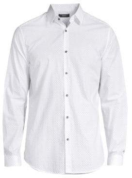 Theory Cotton Dress Shirt