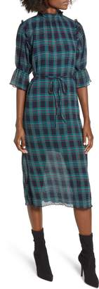 The Fifth Label Zone Tartan Midi Dress