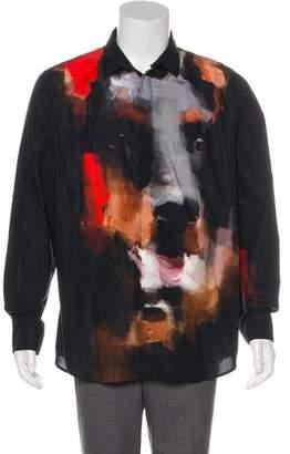 Givenchy Abstract Print Shirt