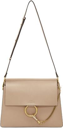 Chloé Beige Medium Faye Bag $2,090 thestylecure.com