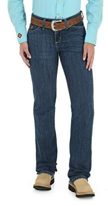 Wrangler Women's Flame Resistant Western Midrise Boot Cut Jean