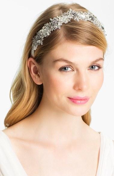 Halo & Co 'My Fairy Lady' Crystal Ribbon Headband