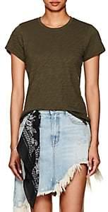 ATM Anthony Thomas Melillo Women's Cotton Jersey T-Shirt - Dk. Green