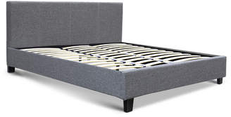 Wilson Dwellhome Grey Premium Bed with Headboard