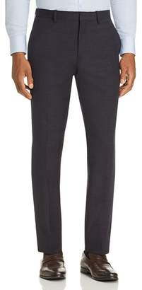 Theory Mayer Tonal Textured-Check Slim Fit Suit Pants