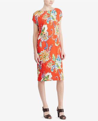 Lauren Ralph Lauren Floral-Print Shift Dress $115 thestylecure.com