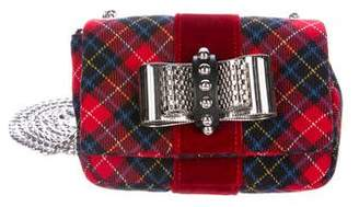 Christian Louboutin Plaid Sweet Charity Bag