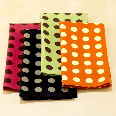 Polka Dot Napkin Sets of 6
