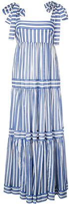 Zimmermann striped tiered maxi dress