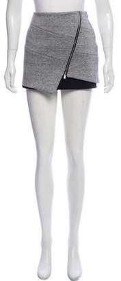 Intermix Asymmetric Mini Skirt