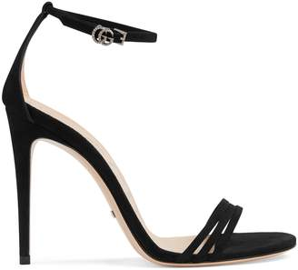 ba2aad835 Gucci Suede Women's Sandals - ShopStyle