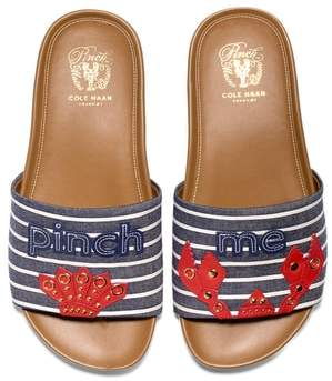 Cole Haan Pinch Montauk Lobster Slide Sandal