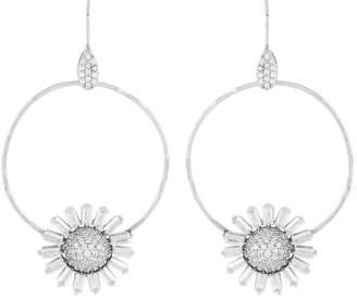 Henri Bendel Atelier Mon Flower Hoop Earring