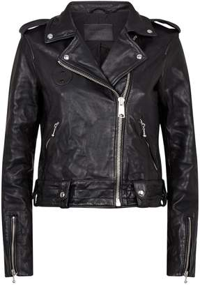 AllSaints Leather Vixon Biker Jacket