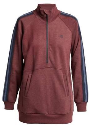 Lndr - Athletics Cotton Blend Sweatshirt - Womens - Burgundy