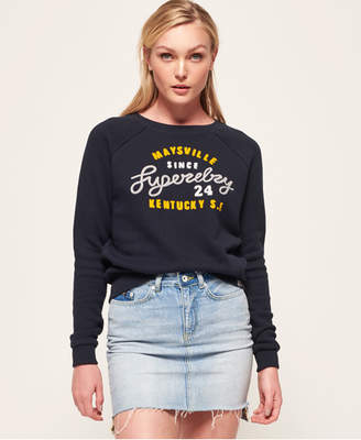 Superdry Aria Slim Crew Sweatshirt