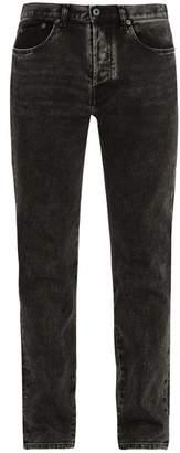 Valentino - Mid Rise Slim Leg Jeans - Mens - Black