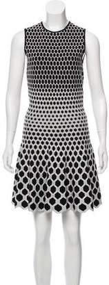 Alexander McQueen Patterned Knit Dress