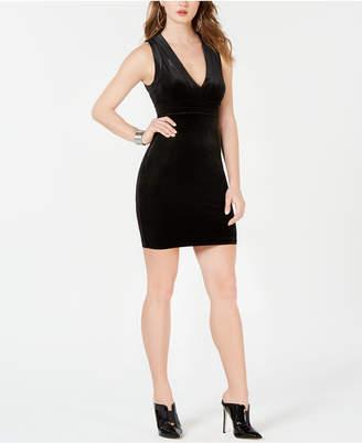 GUESS Ella Velour Bodycon Dress