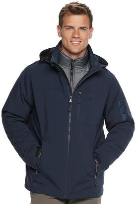 Izod Men's 3-in-1 Softshell Systems Jacket