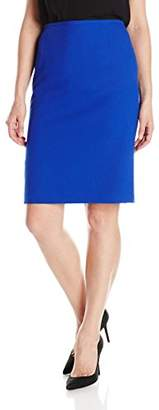 Tahari by Arthur S. Levine Women's Crepe Slim Pencil Skirt
