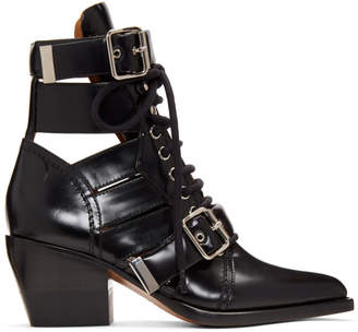 Chloé Black Medium Rylee Boots