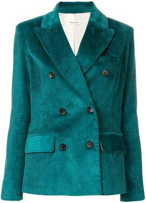 Masscob double breasted blazer