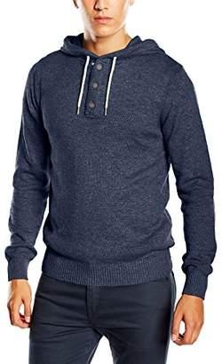Esprit edc by Men's 993CC2I901 Hooded Long Sleeve Jumper