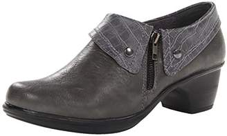 Easy Street Shoes Women's Darcy Boot Grey Crocodile/Gore