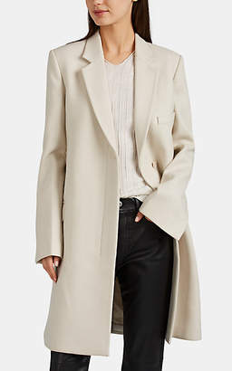 Helmut Lang Women's Wool Topcoat - Light Beige