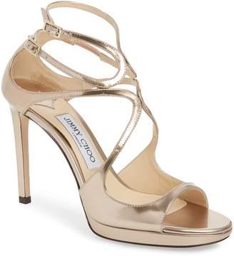 Jimmy Choo Emily Crisscross Platform Sandal