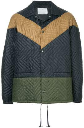 Kolor quilted lightweight jacket