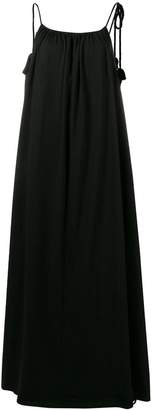 The Row low back long dress
