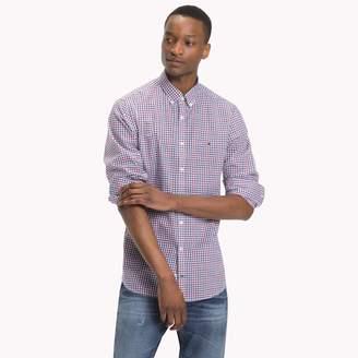 Tommy Hilfiger Cotton Poplin Classic Check Shirt