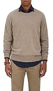 Massimo Alba Men's Cashmere Stockinette-Stitched Sweater-Beige, Tan