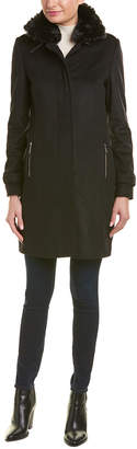Barbour Balmedie Wool-Blend Coat