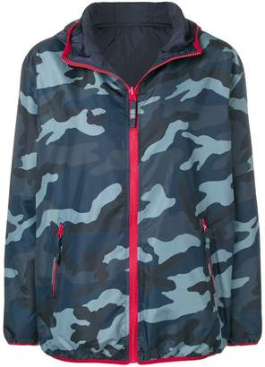 P.A.R.O.S.H. camouflage print hooded jacket
