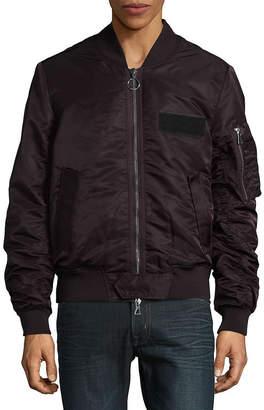 Eleven Paris Nuxy Front Zip Bomber Jacket