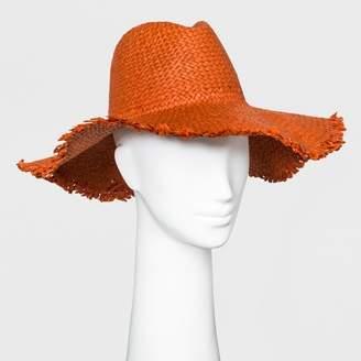 Universal Thread Women's Panama Hat Orange