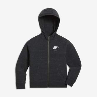 Nike Sportswear Gym Vintage Younger Kids'(Girls') Full-Zip Hoodie